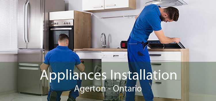 Appliances Installation Agerton - Ontario