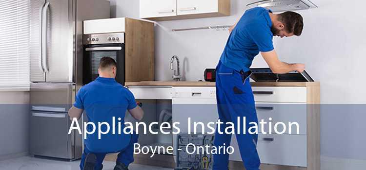 Appliances Installation Boyne - Ontario