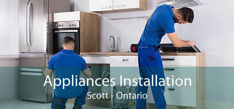 Appliances Installation Scott - Ontario