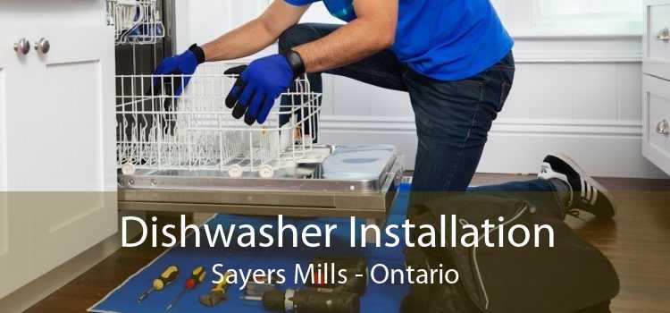 Dishwasher Installation Sayers Mills - Ontario