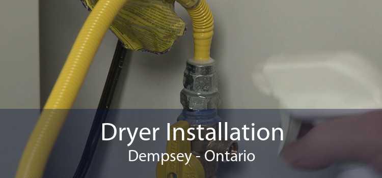 Dryer Installation Dempsey - Ontario