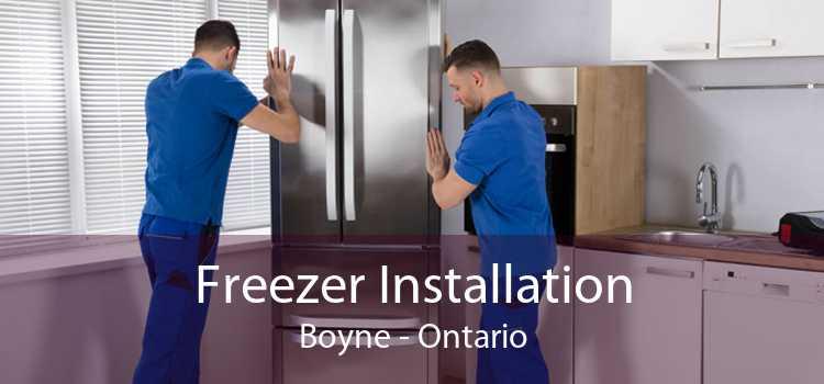 Freezer Installation Boyne - Ontario