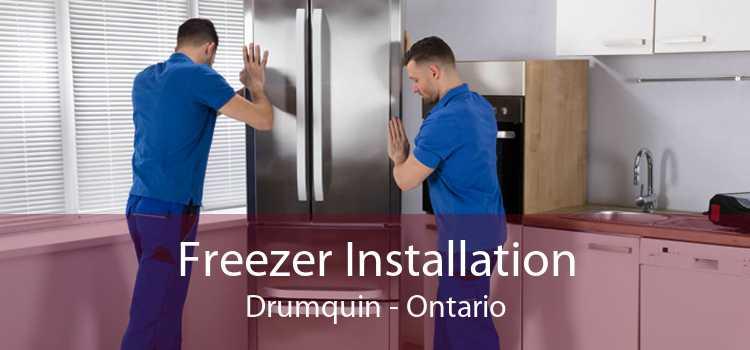 Freezer Installation Drumquin - Ontario