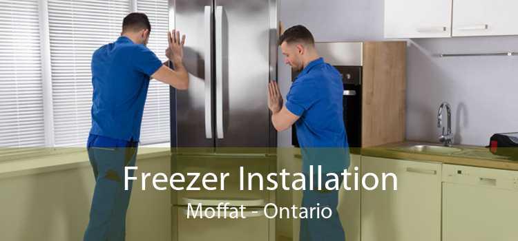 Freezer Installation Moffat - Ontario