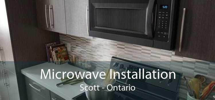 Microwave Installation Scott - Ontario