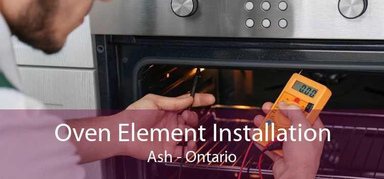 Oven Element Installation Ash - Ontario