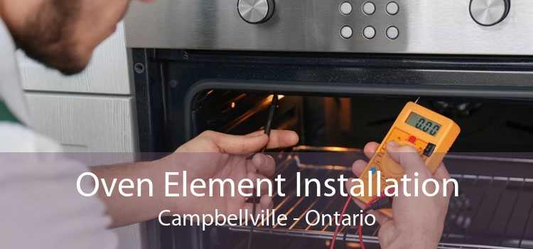 Oven Element Installation Campbellville - Ontario