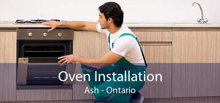 Oven Installation Ash - Ontario