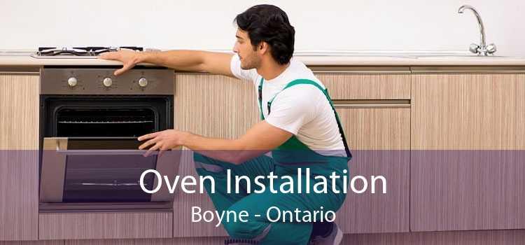 Oven Installation Boyne - Ontario
