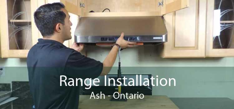 Range Installation Ash - Ontario