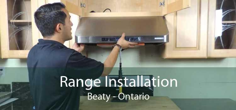 Range Installation Beaty - Ontario