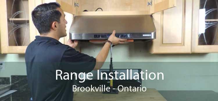 Range Installation Brookville - Ontario