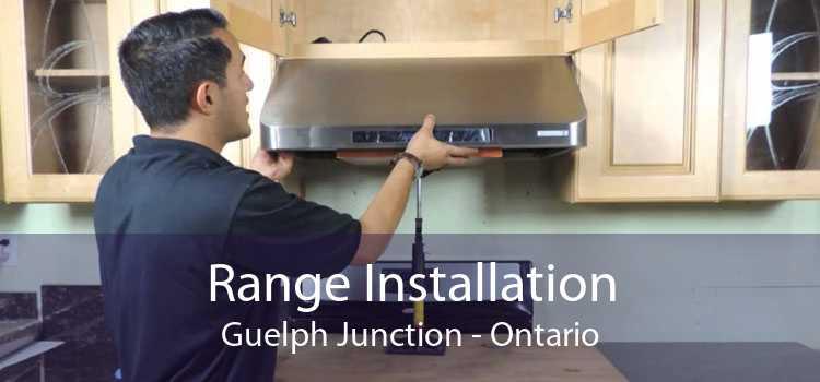 Range Installation Guelph Junction - Ontario