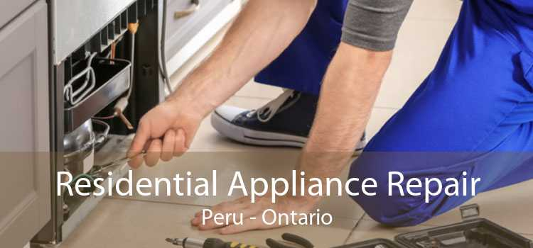 Residential Appliance Repair Peru - Ontario