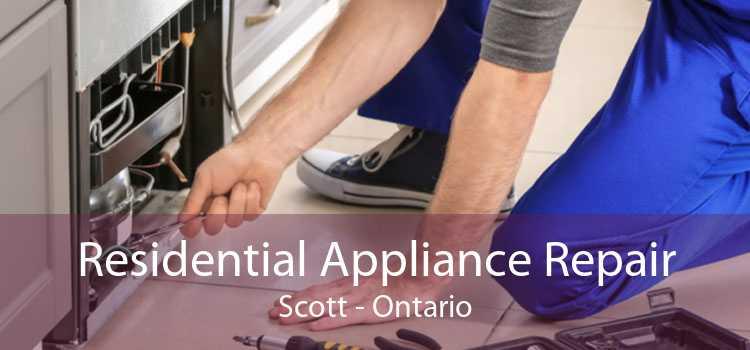 Residential Appliance Repair Scott - Ontario