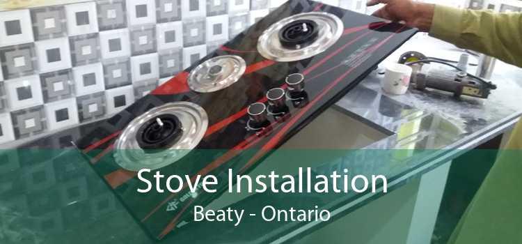 Stove Installation Beaty - Ontario