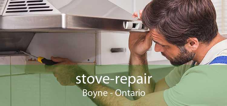 stove-repair Boyne - Ontario