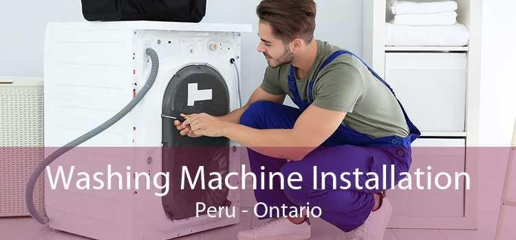 Washing Machine Installation Peru - Ontario